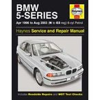 【整備書】Haynes BMW 5-シリーズ Petrol (April 96 - Aug 03) N to 03