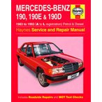 【整備書】Haynes メルセデス ベンツ 190, 190E and 190D Petrol and Diesel (83 - Mercedes-Benz