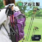 DABADA アルミ製 トレッキングポール カムロック式 最長135cm/最短63cm 2本セット 登山杖