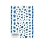 TSUMEKIRA(ツメキラ) ネイルシール indigo blue flowers NN-IBF-101セルフネイル おしゃれ 貼るだけ 宅配便 メーカー直送(ギフト対応不可)