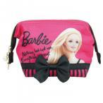 Barbie バービー ワイヤーポーチ サテン フューシャピンク 31286 宅配便 メーカー直送(ギフト対応不可)