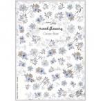 写ネイル ネイルシール Sha-NailPro mood flowers -Classic Blue- MOF-001 宅配便 メーカー直送(ギフト対応不可)
