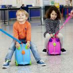 【送料無料】 trunki トランキ ライドオン・トランキ トラベルバッグ キッズ 乗用玩具 機内持ち込み 軽量 ロック スーツケース 子どもが乗れる 収納ケース