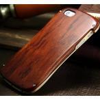 高級木製 iphone5S iphone5 iphoneSE ケースバンパーアルミ木バックレートducati風アルミ合金かっこいい人気カバースマホバンパー
