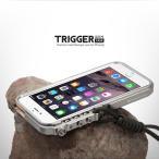 機械手 iphone7 iphone7plus iphone6/6S バンパーアルミケース ストラップ付き耐衝撃TRIGGER アイホンiphone6plus合金バンパーケース金属カバー