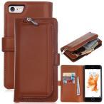 便利な財布カバーiPhone7 iPhone8 iPhone8plus レザーケース手帳型 スマートフォンiphone7plusカバーレザーカバーカード収納大人気本革
