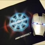 Iron Manマウスパッド アイアンマン胸LEDライト絵柄大人気個性