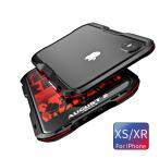 2色利刃  iPhone Xs iPhone XR アルミバンパー iPhoneXs Max ケース メタルフレーム ねじ止め 人体工学デザイン スリム 人気おしゃれ かっこいい枠