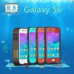 Galaxy S6  防水ケース スタンド付き 完全防水 スマートフォン人気防塵防水防雪耐衝撃Waterproof/redpepper正規品カバー