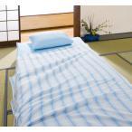 朝までぐっすり!! ひんやり!!クールレイR 今治ブランド タオルケット ブルー★サイズ 約140×200cm