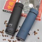 水筒 ボトル 韓国風 おしゃれ 500ml ステンレス マグボトル 保温 保冷 直飲み ステンレスボトル タンブラー