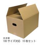 ダンボール箱 100サイズ 10枚 ダンボール 段ボール 引越し