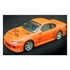 アオシマ 1/64 オプションミニカーコレクション2 Option2 シークレット:ニッサン ベルテックス ラング S15 シルビア レッド 模型 ミニカー エアロ 改造車