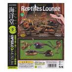 海洋堂 カプセルQ ミュージアム レプタイルズ・ラウンジ Reptiles Lounge 現世のドラゴンたち 全5種セット ガチャポン デスクトップ フィギュア トカゲ 恐竜
