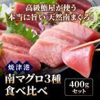 南マグロ食べ比べ400gセット[中トロ柵/赤身柵/たたき]【冷凍】 マグロ ミナミマグロ 鮪 まぐろ 刺身 鮮魚 #元気いただきますプロジェクト販売価格助成商品
