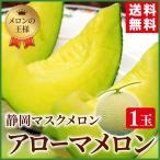 送料無料 静岡産 マスクメロン アローマメロン 1.2kg×1玉  贈答 ギフト プレゼント