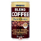 ブレンドコーヒー サンガリア 185g 缶 30本入り