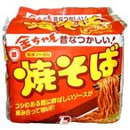 金ちゃん焼そば 徳島製粉 5食パック 6個入り