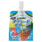 チアシードPLUSゼリー ソルティーパイン味 180g 神奈川県清涼飲料組合