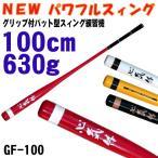 (大特価!)パワフルスイング GF100 素振り用バット ゴルフ用 練習器具 M-280