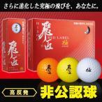 ワークスゴルフ 飛匠 レッドラベル 極 ゴルフボールWORKSGOLF HISHO RED LABLE 非公認球