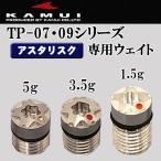 カムイ KAMUI TP-07・09シリーズ ヘッドウェイト1個 (1.5g・3.5g・5g)