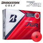 (NET限定価格) ブリヂストンゴルフ マットレッド TOUR B JGR ゴルフボール 1ダース(12個) ツアービー あすつく
