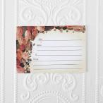 結婚式 ゲストカード(芳名帳) Sepia Rose(1枚)