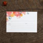 結婚式 ゲストカード(芳名帳) PASSION(1枚)