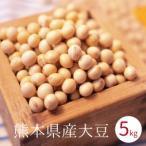 大豆 熊本県産 ふくゆたか 5kg袋入り 国産大豆 味噌 豆乳 豆腐用 豆腐作り 味噌作り