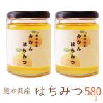 国産 はちみつ 600g 熊本県産 非加熱 濃熟蜂蜜 国産 純粋はちみつ ミカン蜜 みかん蜜 瓶入り