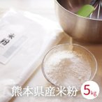 米粉 製菓用 グルテンフリー 5kg 熊本県産 ヒノヒカリ 国産 業務用 米粉麺 お好み焼き 離乳食 ライスミルク