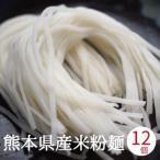 米粉麺 グルテンフリー 12個入り 熊本県産 ヒノヒカリ 国産 米粉うどん パスタ 離乳食 フォー