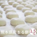 餅 もち 丸餅 1.5kg 28個程度 お正月 熊本県産 無添加 おもち