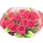 真紅のバラで花束を【17時まであすつく対応】