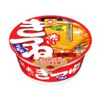 (まとめ)マルちゃん 赤いきつねうどん 関東風つゆ 1箱(96g×12個)〔×2セット〕