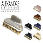 アレクサンドルドゥパリ ヘアクリップ 4.5cm ICC45-14339-02 選べるカラー Alexandre de Paris ヴァンドーム