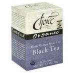 Choice Organic Teas - 紅茶クラシック ブラック - 16 ティーバッグ (旧オレンジ ・ ペコ カット)