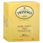 Twining Tea TeaボックスCntr Earlgrey、100*BG、pk- 5
