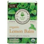 Herb Tea, 95*% Organic, Lemon Balm、16バッグ(Pack of 6*) (値一括マルチパック