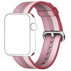 Apple Watchバンド、lazyodd織ナイロン手首ストラップ交換ナイロンバンドクラシックバックルApple Watch用シリーズ2シリーズ1