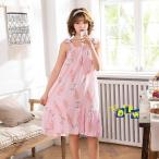 ネグリジェ レディース 子供 女の子 パジャマ 親子服 ワンピース ルームウェア 部屋着 夏 ゆとりBH0605-AL80