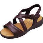 クロワッサン サンダル レディース Croissant Sandal Basic CR4591 D/ブラウン