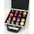 家庭用ビリヤードボールBY-HC1S ケース入 小さい38mm球 アタッシュ型ハードケース JUEKO BY-8705Y