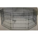 犬 ペットサークル S ケージ 8面 高さ61cm 超小型〜小型犬 うさぎ 小動物 折りたたみ ペットフェンス YD008S-1 室内・屋外 組み立て簡単 送料無料