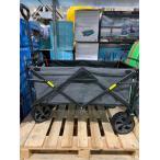 コストコ #1327296 折り畳みワゴンXL カーゴネット/ボトルホルダー付 最大耐荷重:136kg キャンプ 釣り バーベキュー 送料無料