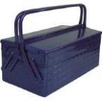 トラスコ中山  2段式工具箱 412X220X289 ブルー GL-410-B [A180102]