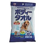 アイリスオーヤマ IRIS ボディタオル小型犬猫用25枚 (25枚) BWT-25M [C010806]
