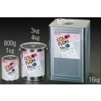 エスコ ESCO 3.0kg 耐熱塗料(艶あり・メタリックシルバー) EA942FA-41 [I050306]