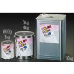 エスコ ESCO 1.0kg 耐熱塗料(半艶・黒) EA942FA-2 [I050306]